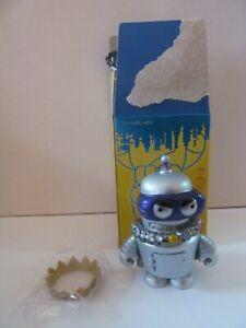 Kidrobot - Futurama - Super King Bender - Vinyl Mini - Opened