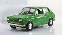 DIE CAST MODELCAR FIAT 127P 127 P 1/43 auto CLASSICHE ITALIANE modello model car