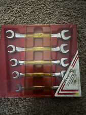 Snap On Rxs605b 5 Pc 6 Point Sae Double End Flare Nut Line Wrench Set Withtray