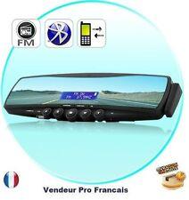 Retroviseur Bluetooth telephone voiture oreillette transmetteur FM carte SD MP3