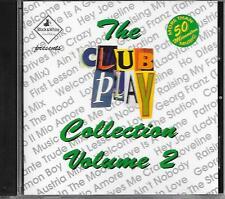 V/A - The Club Play Collection VOLUME 2 CD Album 14TR Eurodance Techno 1993