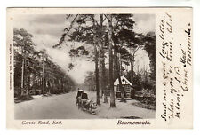 Gervis Road, East - Bournemouth Photo Postcard 1903