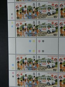 SOLOMON ISLANDS 1989 SG644 ANNIVERSARY OF INTERNATIONAL RED CROSS  -  MNH