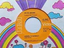 "JIM ED BROWN - Angel's Sunday / Every Mile of the Way 1975 COUNTRY 7"" RCA"
