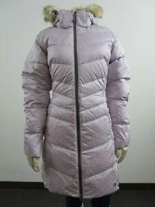 Womens Mountain Hardwear Downtown Waterproof Insulated Coat Hooded Jacket Astral