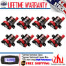 Set of 8 Ignition Coils (Round Type) for Chevrolet GMC fits C1251 UF-262 D-585
