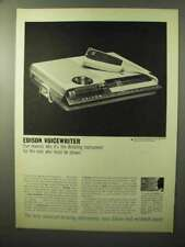 1964 Edison Voicewriter Ad - Five Reasons Why