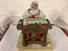 Norman Rockwell Figurine Checking His List #7303