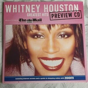 WHITNEY HOUSTON - GREATEST HITS CD (Daily Mail)