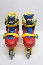 Vintage Little Tikes Training Roller Skates, Adjustable Youth Size M 10/11/12