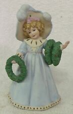 "VINTAGE CHRISTMAS DECOR--""HOLLIES FOR YOU"" MUSIC BOX--VERY NICE--GREAT PATINA!"
