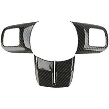 Carbon Fiber Steering Wheel Trim Cover Set For Jeep Wrangler JK 2011-2017