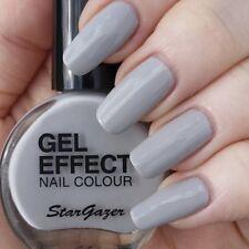 Stargazer GEL Effect Nail Polish Extra Glossy Finish GREYSCALE - Grey