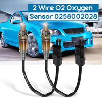 2Pcs 2 Wire O2 Oxygen Sensor For Holden Commodore V6 3.8L VR VS VT VU VX VY New