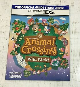 Welcome to Animal Crossing Wild World Player's Guide Nintendo DS PAPERBACK