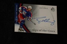 RYAN HOLLWEG 2005-06 SP AUTHENTIC CERTIFIED AUTHENTIC SIGNED AUTOGRAPHED CARD