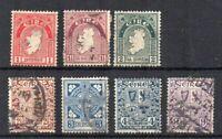 Ireland 1922-34 values to 9d FU CDS