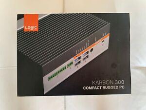 Onlogic Karbon 300 Rugged Industrial PC Intel Atom 4GB DDR4L 128GB SSD