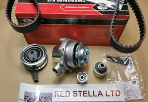 Timing Belt Kit water pump for AUDI VW SEAT SKODA 1.6 2.0 TDI KP15678XS 2011-