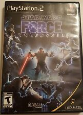 Star WARS the force unleashed   Playstation 2 complete