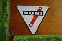 Alter Aufkleber Automobil Motorrad Werkstatt Stoßdämpfer KONI (AE)
