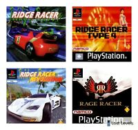 Ps1 - Ridge Racer Or Rage racer - Choose Your Game Multi Listing
