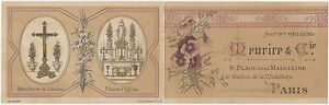 1880s Paris Church Ecclesiastical French Ornament Dealer Chromo Brochure