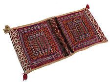 Antik Afghan nomaden Doppeltasche teppich Torba antique nomadic rug bag Nr:117