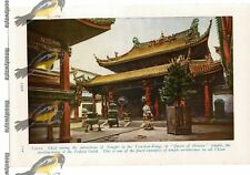 Ningpo, Tien-How Kung Temple, China, Book Illustration c1920