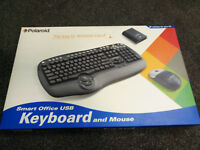 Pack Of 5 Qwerty Keyboard Mouse Without Fils polaroid Wireless RF