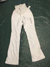 Designer Maternity Jeans Pea In A Pod Size medium White Bootcut