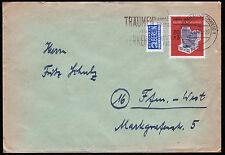 Bund 172, 20 Pf. IFRABA a. portogerechten Brief 1.11.53