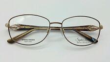 Sophia Loren's Beau Rivage SL BR61 Authentic Eyeglasses Frame  54-16-135, Brown