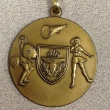 Cheerleading G/S/B Medal Award W/ Neck Ribbon ~New~ Engraved Free Cheerleader