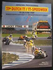 Officieel Programma Dutch TT-Speedweek Assen 1989