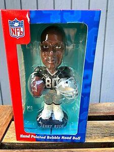 Oakland Raiders Jerry Rice Bobblehead QB Club Bobble Dobble New In Box NFL #80