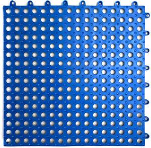 9pack VINTEK Tile 103 Interlocking Vinyl Floor Drain Tiles Mat Pool Shower Bath