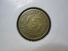 Deutsches Reich 5 Rentenpfennig 1924 J (444)