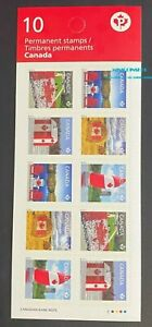 Canada 2013 BK521A Canadian Pride Flag Yacht (Security Printing) Booklet MNH