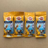 4 X 3 45g Pedigree Dentastix - Daily Dental Care Chews Small Dog Treats -Tasty!