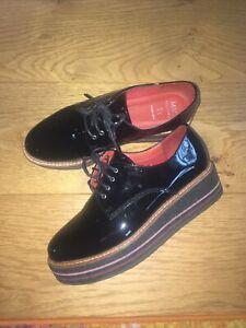 Marks And Spencer Black Patient Shoes Flatforms 4