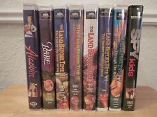 The Land Before Time VHS Clamshell Movies - Lot of 5