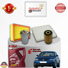 Filtres Kit D'Entretien + Huile VW Passat V 1.9 Tdi 73KW 100CV à partir de 2000