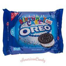 NEW: 1x 432g Oreo BIRTHDAY CAKE FLAVOR CREME with Colourful streusseln (25,44 €/1kg)