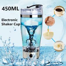 Electric Protein Shaker Bottle Vortex Mixer Cup Blender Drink USB Charging UK