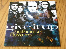 "HOTHOUSE FLOWERS - GIVE IT UP     7"" VINYL PS"