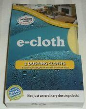 E-CLOTH 2 DUSTING CLOTHS 10607 NEW