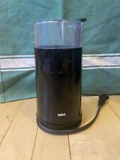 BRAUN KSM2 Blade Type Aromatic Coffee - Spice Grinder- BLACK - Great Condition .