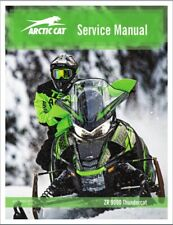2020 Arctic Cat ZR 9000 Thundercat Snowmobile Service Repair Manual CD