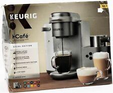 Keurig K Cafe Single Serve Coffee Latte Cappuccino Maker SE Nickel